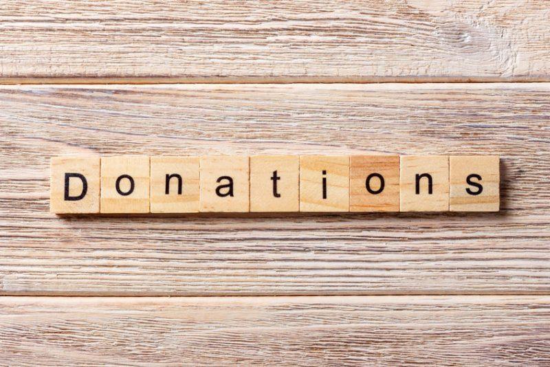 Monthly donations to LTHC