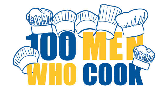 100 Men Who Cook Logo